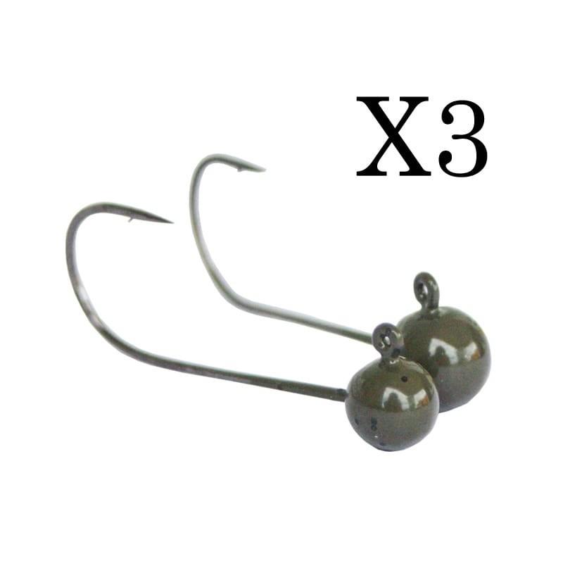 Tête en Tungtsène SICO-LURE X3