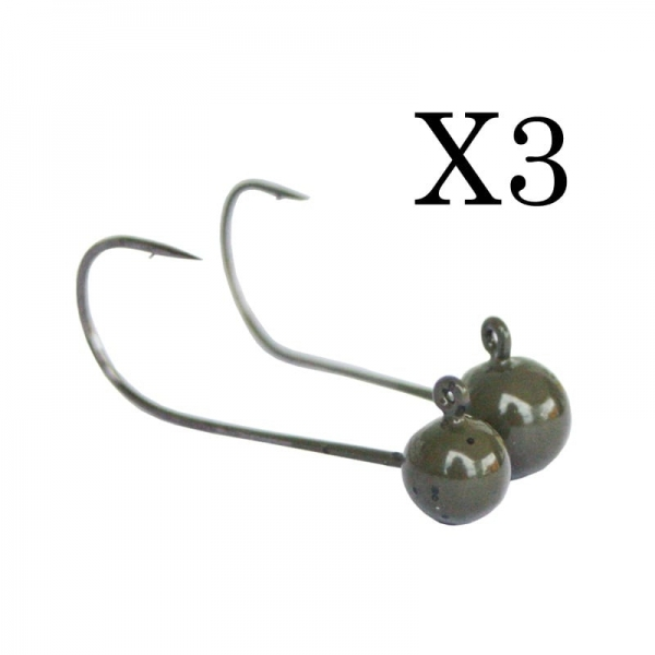 Sico-Lure Tungsten Heads (3...